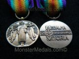 MINIATURE WW1 INTER ALLIED VICTORY MEDAL PORTUGUESE (PORTUGAL)